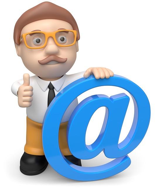 business man, spider monkey, email